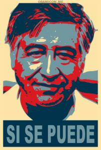 Cesar Chavez graphic